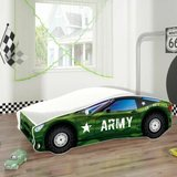 Pat Tineret MyKids Race Car 07 Army-160x80